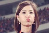 中国足球人的一天:最美女主播贾紫婷